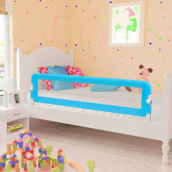 Ограничител за бебешко легло, 150 x 42 см, син - Мебели за детска стая