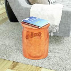 Sonata Кована алуминиева табуретка/странична маса, месинг/меден цвят - Тоалетки