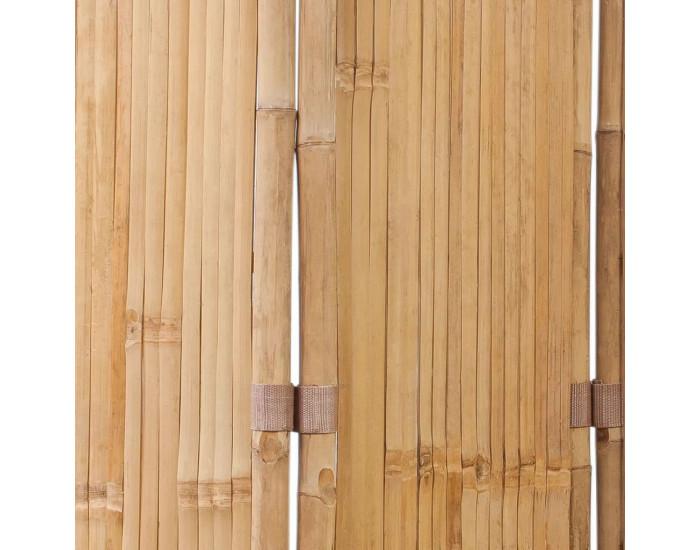 3-панелен параван от бамбук -