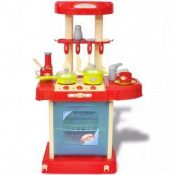 Детска кухня за игра със светлинни и звукови ефекти - Детски играчки