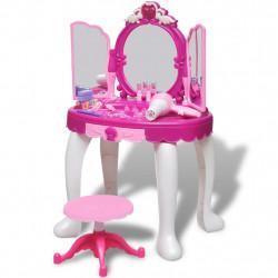 Детска тоалетка да игра с 3 огледала, светлини и звуци - Детски играчки