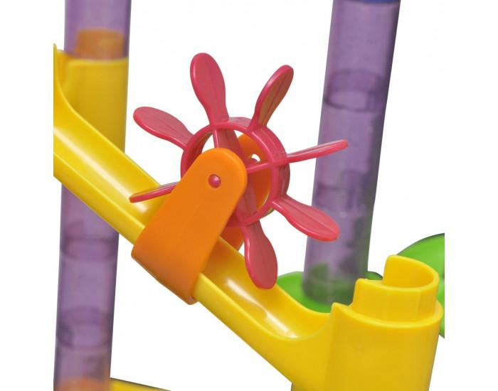 Детски конструктор за писти с топчета - Марбъл -