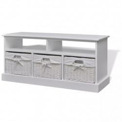 Sonata Aarau пейка за съхранение на обувки, бяла - Сравняване на продукти