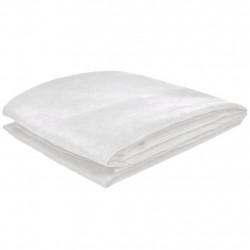 Калъф за диван, микро велур, кремав, 140 x 210 cм - Калъфи за мебели