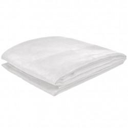 Калъф за диван, микро велур, кремав, 210 x 280 cм - Калъфи за мебели