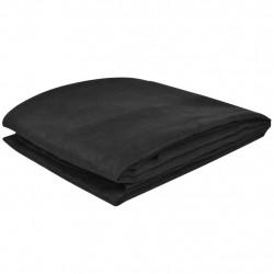 Калъф за диван, микро велур, антрацитно черно, 270 x 350 cм - Калъфи за мебели