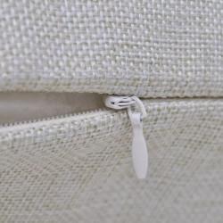 Sonata Бежови калъфки за възглавници, 4 бр, ленен вид, 80x80 см - Сравняване на продукти