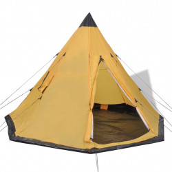 Sonata 4-местна палатка, жълта - Палатки