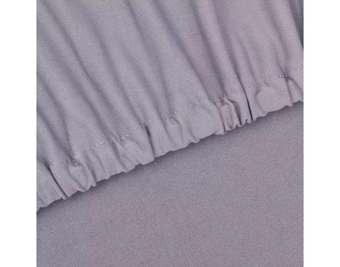 Sonata Разтегателен калъф за диван, сив, полиестерно жарсе -