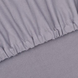 Sonata Разтегателен калъф за диван, сив, полиестерно жарсе - Калъфи за мебели