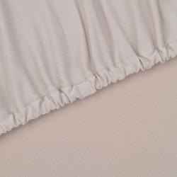 Sonata Разтегателен калъф за диван, бежов, полиестерно жарсе - Калъфи за мебели