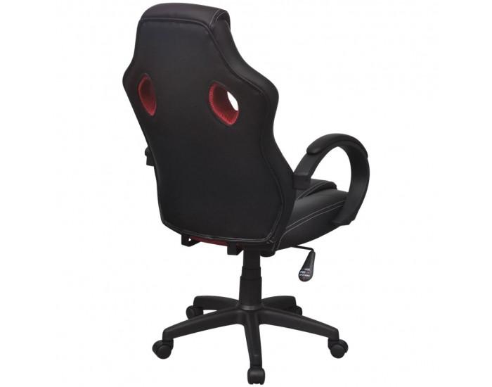 Sonata Директорски офис стол, червен, изкуствена кожа -