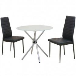 Sonata Трапeзен комплект от 3 части, маса и два стола - Комплекти маси и столове