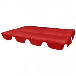 Sonata Резервен покрив за градинска люлка, червен, 226x186 cм - Шатри и Градински бараки