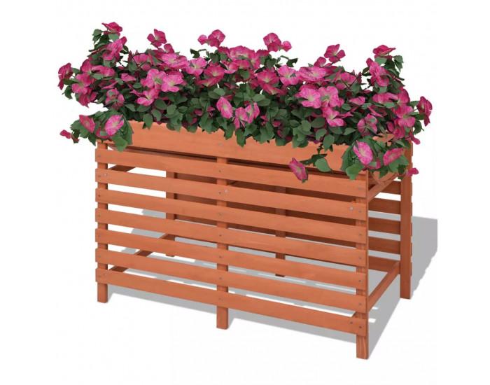 Sonata Сандък за цветя, 100x50x71 см, дървен -