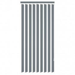 Sonata Вертикална щора, плат, 120x250 см, сива - Щори