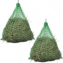 Sonata Мрежа за сено, 2 бр, кръгла, 0,75x0,5 м, полипропилен - Домашни любимци