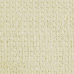 Sonata Слънцезащитно платно, HDPE, триъгълно, 3.6x3.6x3.6 м, кремаво - Сенници и Чадъри