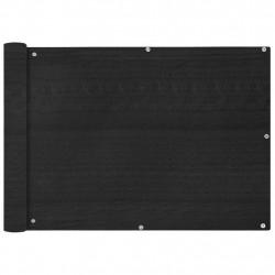 Sonata Балконски екран, HDPE, 75x600 см, антрацитно сиво - Сенници и Чадъри