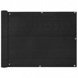 Sonata Балконски екран, HDPE, 90x600 см, антрацитно сиво - Сенници и Чадъри