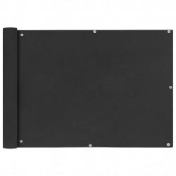 Sonata Балконски екран от оксфорд плат, 75x600 см, антрацит - Сенници и Чадъри