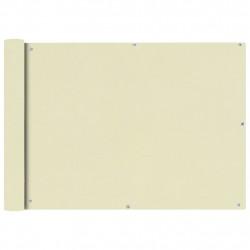 Sonata Балконски екран от оксфорд плат, 75x600 см, кремав - Сенници и Чадъри