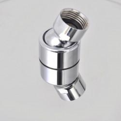 Sonata Душ пита от неръждаема стомана, 25 см, кръгла - Продукти за баня и WC