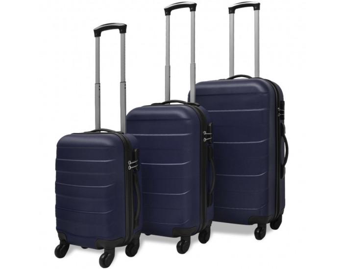 Sonata комплект 3 броя твърди куфари на колелца