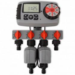 Автоматичен напоител с 4 станции 3 V EX Home model Sonata  - Поливане, Напояване