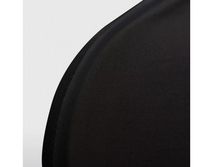 Sonata Покривни калъфи за столове, еластични, 4 бр, черни -