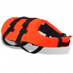 Sonata Спасителна жилетка за кучета, размер S, оранжева - Домашни любимци