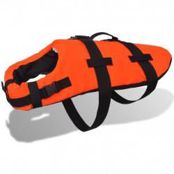 Sonata Спасителна жилетка за кучета, размер L, оранжева - Домашни любимци