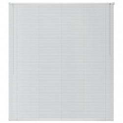 Sonata Алуминиеви щори за прозорци, 120x220 см, бели - Щори