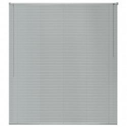 Sonata Алуминиеви щори за прозорци, 80x130 см, сребристи - Щори