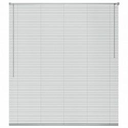 Sonata Алуминиеви щори за прозорци, 80x160 см, сребристи - Щори