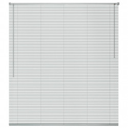 Sonata Алуминиеви щори за прозорци, 100x160 см, сребристи - Щори