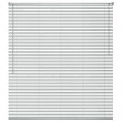 Sonata Алуминиеви щори за прозорци, 140x160 см, сребристи - Щори