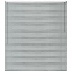 Sonata Алуминиеви щори за прозорци, 120x220 см, сребристи - Щори