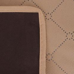 Sonata Одеяло за пикник, бежово и кафяво, 100x150 см - Спорт и Свободно време