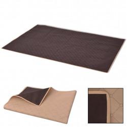 Sonata Одеяло за пикник, бежово и кафяво, 150x200 см - Спорт и Свободно време