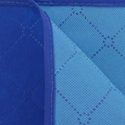Sonata Одеяло за пикник, синьо и светлосиньо, 150x200 см - Спорт и Свободно време