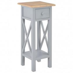 Sonata Помощна маса, сива, 27x27x65,5 см, дървена - Тоалетки