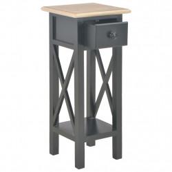 Sonata Помощна маса, черна, 27x27x65,5 см, дървена - Тоалетки