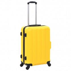 Sonata Комплект твърди куфари с колелца, 3 бр, жълти, ABS - Куфари и Чанти