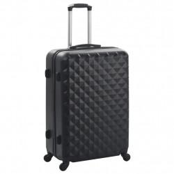 Sonata Комплект твърди куфари с колелца, 3 бр, черни, ABS - Куфари и Чанти
