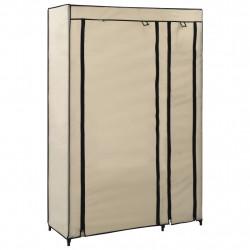 Sonata Сглобяем гардероб, кремав, 110x45x175 см, текстил - Гардероби