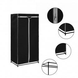 Sonata Гардероб, черен, 75x50x160 см - Гардероби