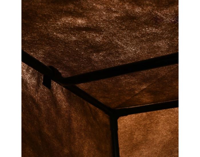 Sonata Гардероб, кафяв, 75x50x160 см -