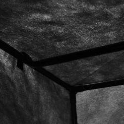 Sonata Гардероби, 2 бр, черни, 75x50x160 см - Гардероби