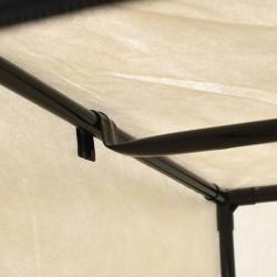 Sonata Гардероби, 2 бр, кремави, 75x50x160 см - Гардероби